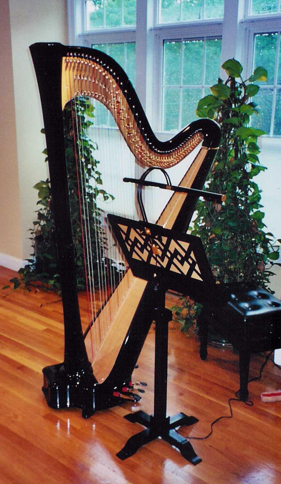 Harp Music Stand Folk Harp Stands Harp Folk Harp And Pedal Harp Benches Wood Music Stand Pedal Harp Music Stands Mister Standman Music Stands